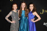 Aubrey Miller Photo - Abby Donnelley Olivia Sanabia Aubrey Millerat the Just Add Magic Amazon Premiere Screening Arclight Hollywood CA 01-14-16