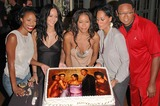 Reggie Hayes Photo - Jill Marie Jones Persia White Golden Brooks Tracee Ellis Ross and Reggie Hayes at the celebration in honor of 100 Episodes of Girlfriends at Stage 23 Paramount Pictures Hollywood CA 10-06-04