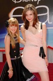 Bella Thorne Photo - Bella Thorne and Callie Thorne at the World Premiere of Earth El Capitan Theatre Hollywood CA 04-18-09