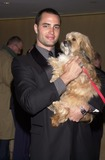 Genesis Photo - Victor Webster and the new Benji at the 2002 Genesis Awards presented by the Ark Trust honoring media who have spotlighted important animal issues  Beverly Hilton Hotel 03-16-02