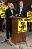 Casey Kasem Photo - Mouner Kasemat Casey Kasems Family Press Conference Stanley Mosk Courthouse Los Angeles CA 01-30-15