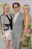 Alan Cumming Photo - Emma Stone Alan Cumming Andrea Riseboroughat the Battle of the Sexes Premiere Village Theater Westwood CA 09-16-17