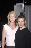 Avant Photo -  JENNA ELFMAN AND HUSBAND BODHI at the InStyle Magazines exhibition of avante-garde artist Bryten Goss work Quixote Studios West Hollywood 06-28-01