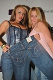 Angel Cassidy Photo - Angel Cassidy and friend at the Tag Jeans and Gold Hawk Fashion Party Element Hollywood CA 06-09-06