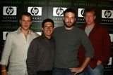 Chris Moore Photo - Matt Damon Steve Remedils Ben Affleck and Chris Moore at the 3rd Project Greenlight Contest Presented by HP Highlands Hollywood CA 07-13-04