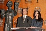 Andie Macdowell Photo - Mark Harmon and Andie MacDowell at the 10th Annual Screen Actors Guild Awards Nominations Announcement Pacific Design Center Los Angeles CA 01-15-04