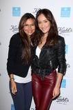 Avocado Photo - Vanessa Marcil Maggie Qat Kiehls Earth Day Creamy Eye Treatment with Avocado Kiehls Santa Monica CA 04-15-15