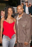 Tasha Smith Photo - Tasha Smith and husband at Warner Brothers The Whole Ten Yards Premiere in Graumans Chinese Theatre Hollywood CA 04-07-04