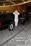 Amber Rose Photo - Nadeea Volianovaarrives at the Chris Brown concert wearing an outfit like the one Amber Rose wore to last weeks VMA awards Drais Beach Club Las Vegas 09-06-15