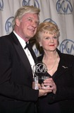 Angela Lansbury Photo - John Frankenheimer and Angela Lansbury at the 13th Annual Producers Guild Awards held in Century City 03-03-02