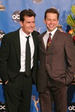 Charlie Sheen Photo - Charlie Sheen and Jon Cryer at the 56 Annual Primetime Emmy Awards at The Shrine Auditorium Los Angeles CA 09-19-04