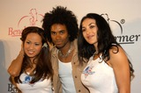 Flo Jalin Photo - Flo Jalin Fabrice Morvan and Michelle Fruet at The Launch Party For Bench Warmer Trading Cards White Lotus Hollywood Calif 07-02-03