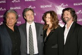 Ronald D Moore Photo - Edward James Olmos and David Eick with Mary McDonnell and Ronald D Mooreat the Envelope Screening Series of Battlestar Galactica Mann 6 Theaters Hollywood CA 06-04-09