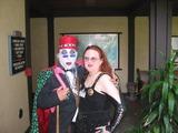 Beverly Garland Photo - Count Smokula and Mistress Aylaat the DomCon LA 2005 Beverly Garland Holiday Inn North Hollywood CA DailyCelebcom 818-249-4998