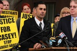 Casey Kasem Photo - Mike Kasemat Casey Kasems Family Press Conference Stanley Mosk Courthouse Los Angeles CA 01-30-15