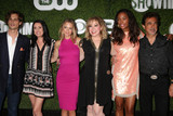 A J Cook Photo - Matthew Gray Gubler Paget Brewster AJ Cook Kirsten Vangsness Aisha Tyler Joe Mantegnaat the CBS CW Showtime Summer 2016 TCA Party Pacific Design Center West Hollywood CA 08-10-16