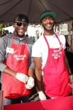 Aldis Hodge Photo - Edwin Hodge Aldis Hodgeat The Los Angeles Mission Christmas Eve Celebration Los Angeles Mission Los Angeles CA 12-24-13