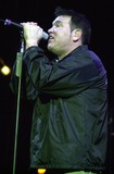 Queen Photo -  Steve Harwell of Smashmouth at the Swatch Wave Tour surf competition and rock concert at the Queen Mary in Long Beach 02-02-00