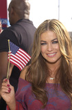 911 Photo -  CARMEN ELECTRA at the celebrity recording of We Are Family to benefit the victims of New Yorks 9-11 tragedy 09-23-01
