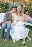 Elizabeth Harrison Photo - Lara Flynn Boyle and Sarah Wynter at the party honoring Lara Shriftman and Elizabeth Harrison and the launch of their new book Fete Accompli The Ultimate Guide To Creative Entertaining at a private residence Malibu CA 08-28-04