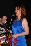 Jenny McShane Photo - Danny Saber and Jenny McShane at the America Welcomes Harry The Dog and the Traveling Soul Circus concert featuring Gibson USA custom guitars Unknown Theater Hollywood CA 04-17-2009