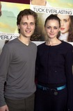 Alexis Bledel Photo - Jonathan Jackson and Alexis Bledel at the premiere of Tuck Everlasting El Capitan Theater Hollywood CA 10-05-02