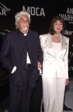 Angelica Huston Photo - Angelica Huston and husband at the Museum of Contemporary Arts opening gala for their Andy Warhol exhibit Los Angeles 05-22-02