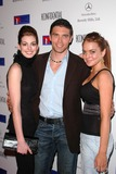 Anson Mount Photo - Anne Hathaway Anson Mount and Lindsay Lohan at the Defense For Children International Fundraiser at the Beverly Hills Mercedes Benz Showroom Beverly Hills CA 05-12-04