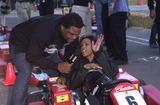 Vivica A Fox Photo - Anthony Anderson and Vivica A Fox at the Cadillac Super Bowl Grand Prix San Diego CA 01-25-03