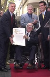 Ray Bradbury Photo - Ray Bradbury honored by the City of Los Angeles at the Star on the Walk of Fame ceremony 04-01-02