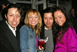 Anise Labrum Photo - Carlos Ramirez and Anise Labrum and Efren Ramirez and Lindsey Labrum At the Listen Closely World Premiere starring EG Daily Benefits Last Chance for Animals The Court Theatre Los Angeles CA 02-18-05