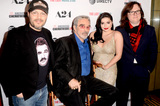 Adam Rifkin Photo - LOS ANGELES - FEB 22  Adam Rifkin Burt Reynolds Ariel Winter Clark Duke at the The Last Movie Star Premiere at the Egyptian Theater on February 22 2018 in Los Angeles CA
