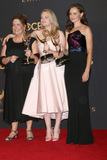Ann Dowd Photo - LOS ANGELES - SEP 17  Ann Dowd Elisabeth Moss Alexis Bledel at the 69th Primetime Emmy Awards - Press Room at the JW Marriott Gold Ballroom on September 17 2017 in Los Angeles CA