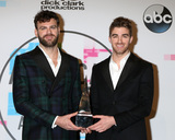 The Chainsmokers Photo - LOS ANGELES - NOV 19  Alex Pall Andrew Taggart The Chainsmokers at the American Music Awards 2017 at Microsoft Theater on November 19 2017 in Los Angeles CA