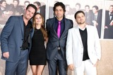 Alexis Dziena Photo - Kevin Dillon Alexis Dziena  Adrian Grenier  Jerry Ferrara arriving at the Entourage 6th Season Premiere  at the Paramount Theater on the Paramount Pictures Studio Lot in Los Angeles CAon July 9 2009