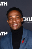 Arlen Escarpeta Photo - LOS ANGELES - FEB 7  Arlen Escarpeta at the The Oath Red Carpet Premiere Event at the Sony Studios on February 7 2018 in Culver City CA