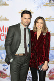 Aimee Teegarden Photo - LOS ANGELES - DEC 4  Brett Dalton Aimee Teegarden at the Once Upon A Christmas Miracle Screening and Holiday Party at the 189 by Dominique Ansel on December 4 2018 in Los Angeles CA