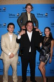 Hayley Orrantia Photo - LOS ANGELES - AUG 4  Troy Gentile Sean Giambrone Jeff Garlin Hayley Orrantia arrives at the ABC Summer 2013 TCA Party at the Beverly Hilton Hotel on August 4 2013 in Beverly Hills CA