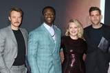 Aldis Hodges Photo - LOS ANGELES - FEB 24  Michael Dorman Aldis Hodge Elisabeth Moss and Oliver Jackson-Cohen at the The Invisible Man Premiere at the TCL Chinese Theater IMAX on February 24 2020 in Los Angeles CA