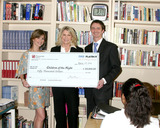 Deanna Brooks Photo - Deanna Brooks Playboy Playmate (May 1998)Dr Lois Lee Founder  Pres of Children of the NightAshton Dorkins Editor-In-Chief of Trading MarketscomDeanna Brooks presents a 50000 check to Children of the Night She won a stock trading contest and this is the prizeChildren of the Night FacilityVan Nuys CAMarch 7 20072007 Kathy Hutchins  Hutchins Photo