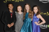 Aubrey Miller Photo - vLOS ANGELES - JAN 14  Judah Bellamy Abby Donnelley Olivia Sanabia Aubrey Miller at the Just Add Magic Amazon Premiere Screening at the ArcLight Hollywood Theaters on January 14 2016 in Los Angeles CA