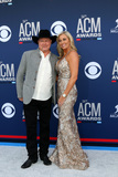 Tracy Lawrence Photo - LAS VEGAS - APR 7  Tracy Lawrence Becca Lawrence at the 54th Academy of Country Music Awards at the MGM Grand Garden Arena on April 7 2019 in Las Vegas NV