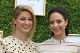 ASH Photo - LOS ANGELES - OCT 14  Melissa Benoist Tala Ashe at the CW Networks Fall Launch Event  at the Warner Brothers Studios on October 14 2018 in Burbank CA