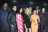 Alberto Rosende Photo - LOS ANGELES - NOV 11  Cast of Shadow Hunters (L-R)- Matthew Daddario Alberto Rosende Alisha Wainwright Katherine McNamara Harry Shum Jr Emeraude Toubia Isaiah Mustafa and Dominic Sherwood at the Peoples Choice Awards 2018 at the Barker Hanger on November 11 2018 in Santa Monica CA