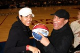 Al Jarreau Photo - Cheryl Miller  Al Jarreauat the Harlem Globetrotters Game Staples CenterLos Angeles CAFebruary 14 2010