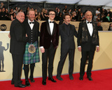 Aidan Gillen Photo - LOS ANGELES - JAN 21  Conleth Hill Iain Glen Isaac Hempstead Wright Aidan Gillen James Faulkner at the 24th Screen Actors Guild Awards at Shrine Auditorium on January 21 2018 in Los Angeles CA