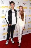 Larsen Thompson Photo - LOS ANGELES - APR 13  Gavin Casalegno Larsen Thompson at the The Outcasts Premiere at the Landmark Regent Theater on April 13 2017 in Westwood CA