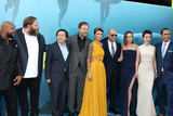 Masi Oka Photo - LOS ANGELES - AUG 6  Page Kennedy Olafur Darri Olafsson Masi Oka Rainn Wilson Ruby Rose Jason Statham Jessica McNamee Li Bingbing Cliff Curtis at the The Meg Premiere on the TCL Chinese Theater IMAX on August 6 2018 in Los Angeles CA
