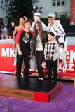 The Jacksons Photo - LOS ANGELES - JAN 26  Prince Michael Jackson Prince Michael Jackson II aka Blanket Paris Jackson at the Michael Jackson Immortalized  Handprint and Footprint Ceremony at Graumans Chinese Theater on January 26 2012 in Los Angeles CA