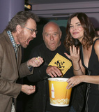 Bryan Cranston Photo - SAN DIEGO - JUL 19  Bryan Cranston Dean Norris Betsy Brandt at the AMCs Better Call Saul Season 4 Premiere on the Horton Plaza 8 on July 19 2018 in San Diego CA